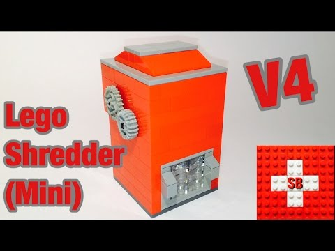 Lego Shredder V4 (Mini)