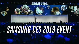 Samsung CES 2019 event in 9 minutes