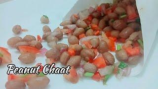 Instant peanut chaat recipe