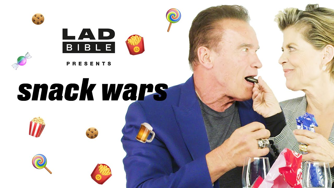 Snack Wars   Arnold Schwarzenegger is VERY passionate about Austrian snacks   @LADbible TV