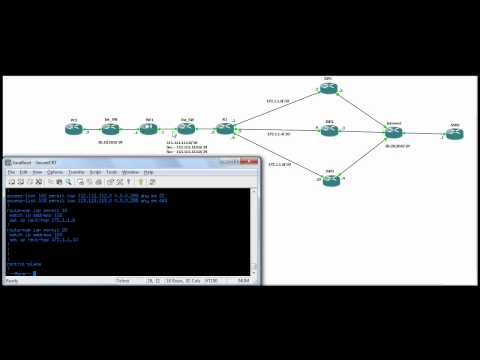 ASA multi nat-global and router route-map to multiple isp.mov