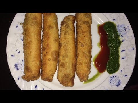 Matar spring roll with hena perween
