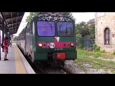 Train Journey Bergamo to Lecco - Lake Como Part 2