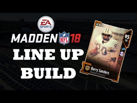 Team No Money Spent Line Up Build!! MUT 18