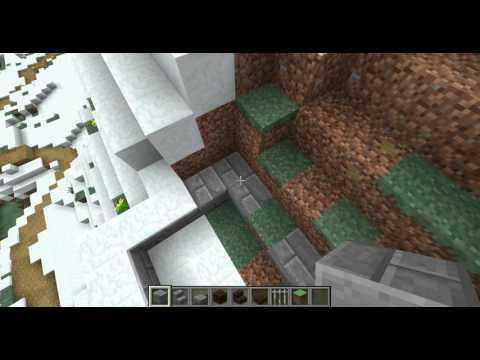 Minecraft Evolution of a Village: Norman Keep