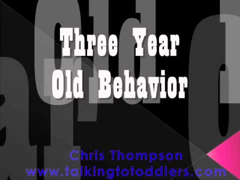 Three Year Old Behavior - Solutions for Every Parent