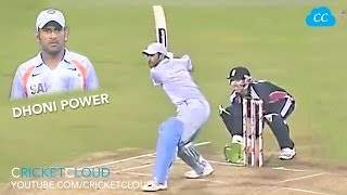 DHONI IN Ball OUT !! HIT 1st Ball for SIX !! MS DHONI POWER !!