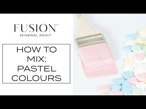 How To Create Pastel Colors with Fusion Mineral Paint™