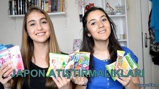 Japon Atıştırmalıklarını Tadıyoruz! JAPAN CANDY BOX