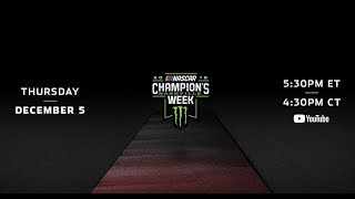 Monster Energy NASCAR Cup Series Awards Live Red Carpet Show