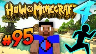 THE RACE EVENT! - HOW TO MINECRAFT S4 #95