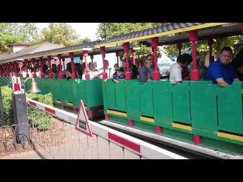 Heartlake City Express Train At Legoland Windsor, September 2015