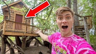 THE GAME MASTER LIVES HERE!! (ABANDONED TREE HOUSE)
