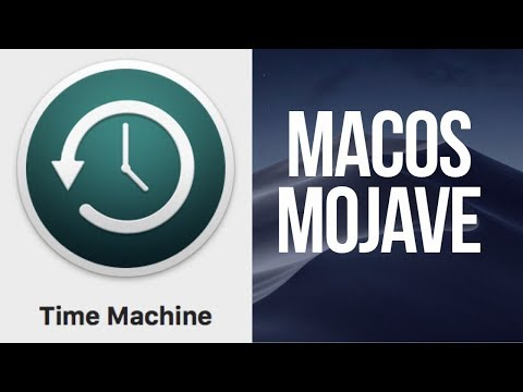 How to Set Up Time Machine in macOS Mojave   External HDD