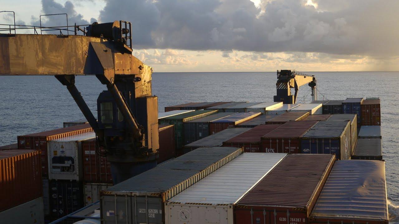 TRANSAT EN PORTE-CONTENEURS (2/2) - Du Havre à Fort-de-France