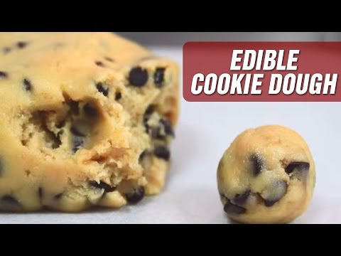 Exquisite Edible Cookie Dough | Scrumptious Snacks Recipe