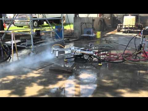Automated Ultra High Pressure Shotgun Cleaning