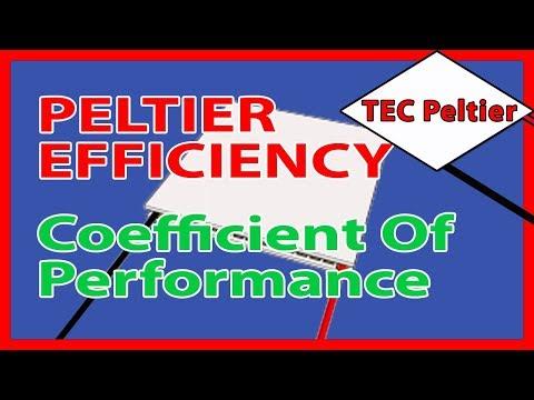 🎓 Peltier efficiency:- Coefficient Of Performance Part4