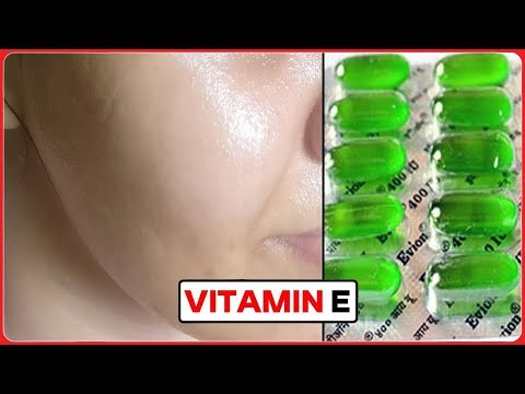 How to Use Vitamin E Capsules For Glowing Skin - Beauty