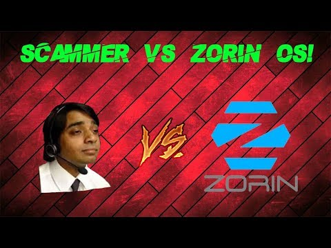 Tech Support Scammer vs Zorin OS