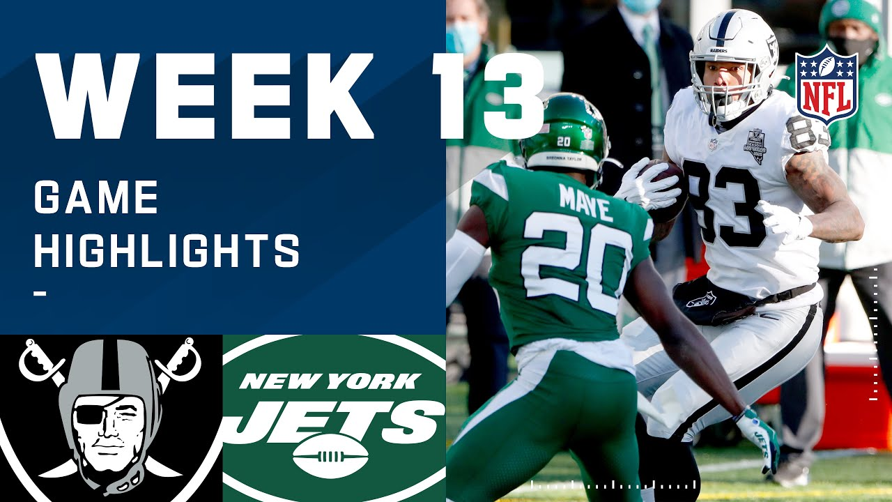Raiders vs. Jets Week 13 Highlights | NFL 2020