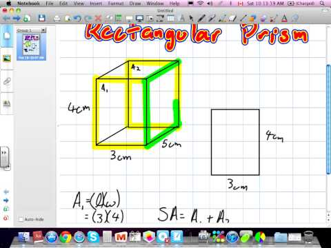 Surface Area and Volume of a Rectangular Prism Grade 7 Nelson Chapter 11 02:18:12