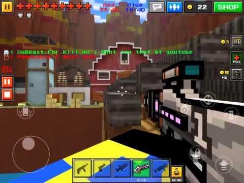 Play Multiplayer w/ Friends| Pixel Gun| Part 1