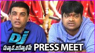 Duvvada Jagannadham Movie Press Meet - Full Video | Harish Shankar | Dil Raju