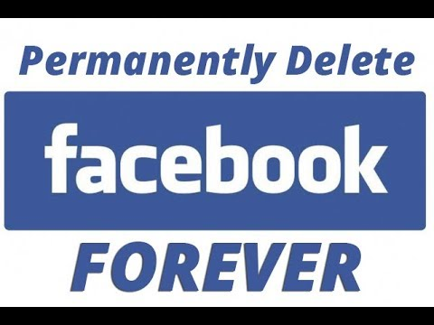 How to permanently delete your facebook account || Tech bunch