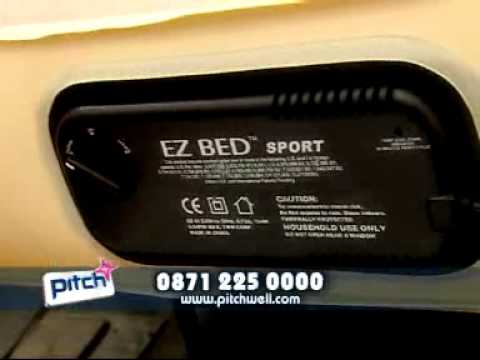How to get a good nights sleep on the EZ Bed