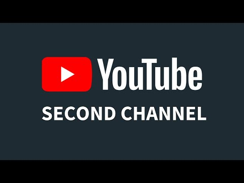 How To Create a Second YouTube Channel in Same Account  2017