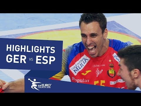 Highlights | Germany vs Spain | Men's EHF EURO 2018