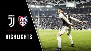 HIGHLIGHTS: Juventus vs Cagliari - 4-0 - Ronaldo hat-trick!