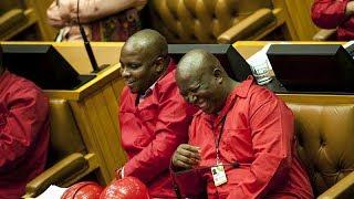 Julius Malema vs Cyril Ramaphosa SONA2018, EFF No Peace