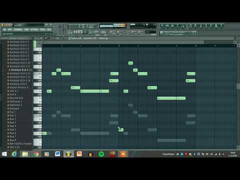 FL Studio Rawstyle Track like E-Force / War-Force