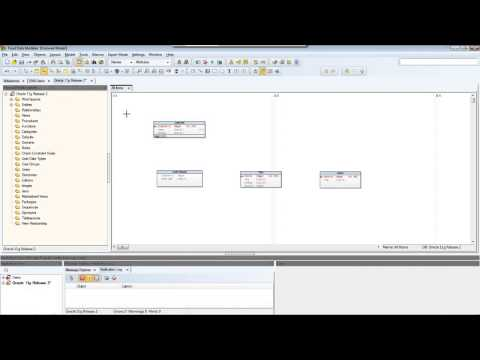 How to create a model in Toad Data Modeler