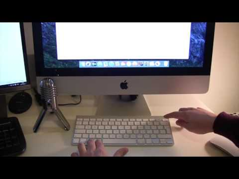 How to quickly lock your imac using keyboard shortcut