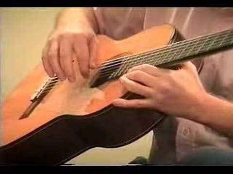 Classical Guitar Lesson #3: Rest stroke