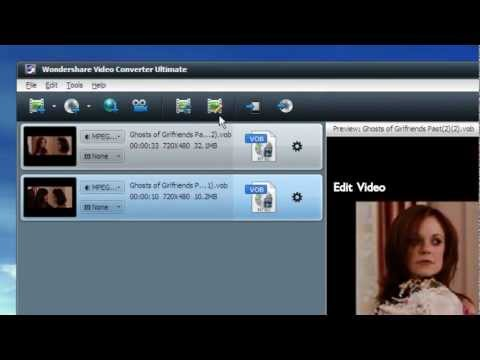 How to Convert VOB to MPEG in Windows 8 - Wondershare