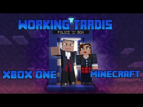 It's bigger on the inside. Working tardis in xbox one minecraft
