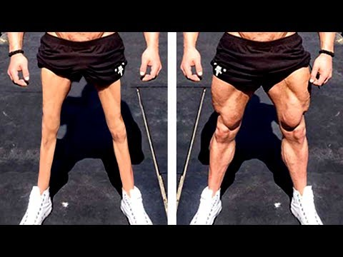 Leg Workout | NO MORE CHICKEN LEGS!