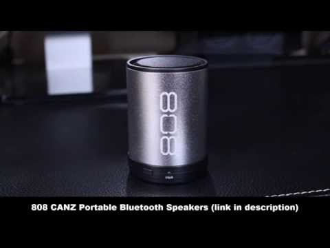 Best Portable Bluetooth Speakers for iPad, iPhone or Android (808 CANZ)