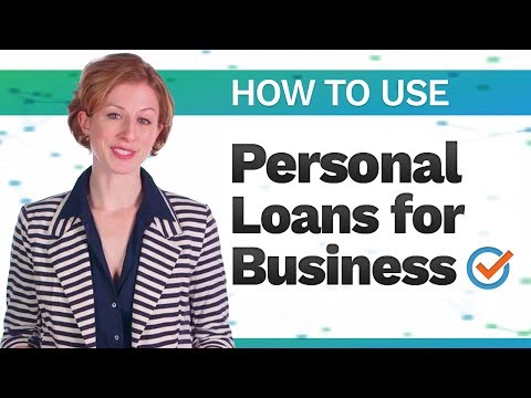 Using Personal Loans Instead of Business Loans