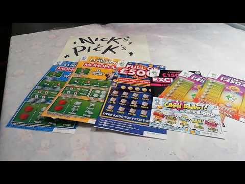 Scratchcards..Piggy Vs Nicky.all cards are from Nicky's Shop..bar one..But can they win anything
