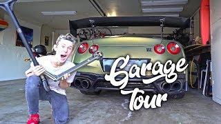 MY FULL GARAGE TOUR!