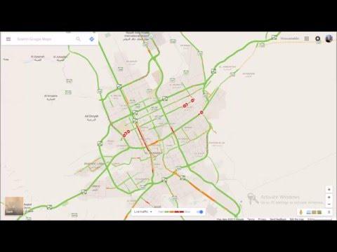 Riyadh 24 hours Google Traffic