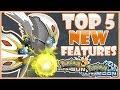 Top 5 New Features in Pokemon Ultra Sun & Moon [Wishlist] | CWpoke Top 10