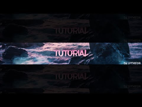 How To Make A Clean Youtube Banner In Photoshop (CC/CS6)