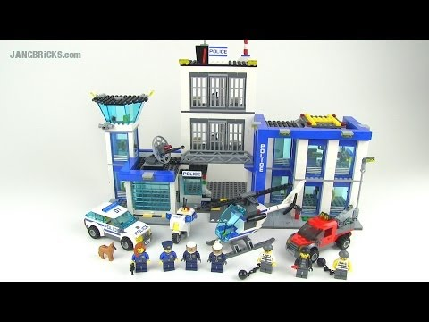 LEGO City 2014 Police Station set 60047 reviewed!