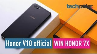 Honor V10 official + 7X global giveaway LIVE